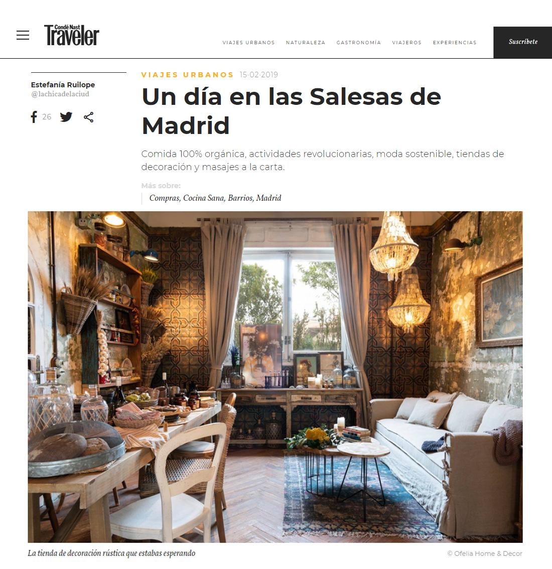 Traveler Viajes Urbanos Un Día En Las Salesas De Madrid